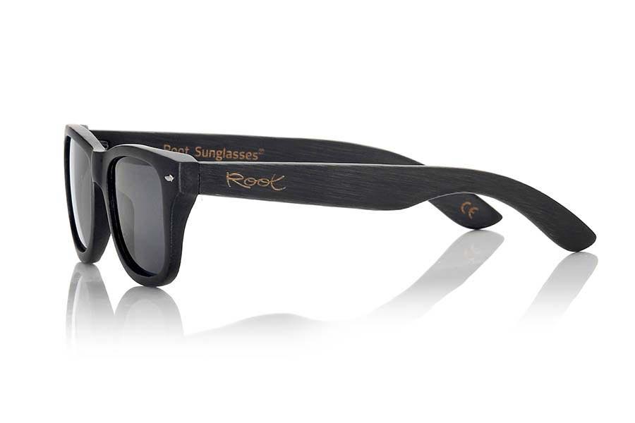 Gafas de Madera Natural de Bambú BLACKCAT II | Root Sunglasses ®
