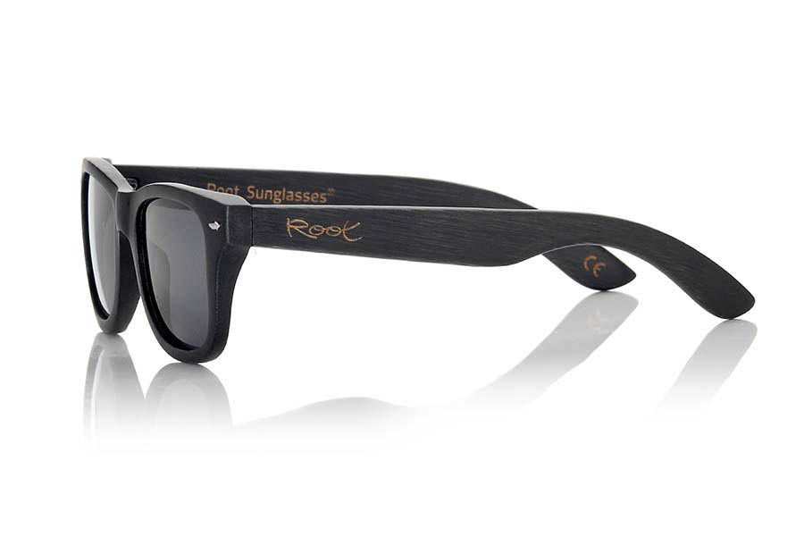 Wood eyewear of Bamboo BLACKCAT II | Root Sunglasses ®