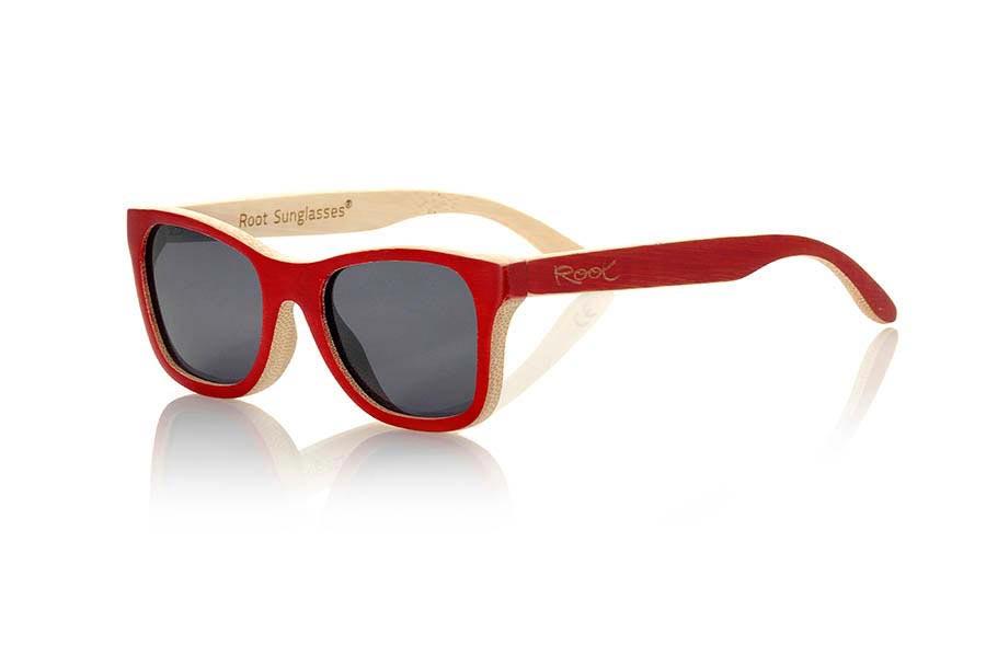 Wood eyewear of Bamboo &POP II | Root Sunglasses ®
