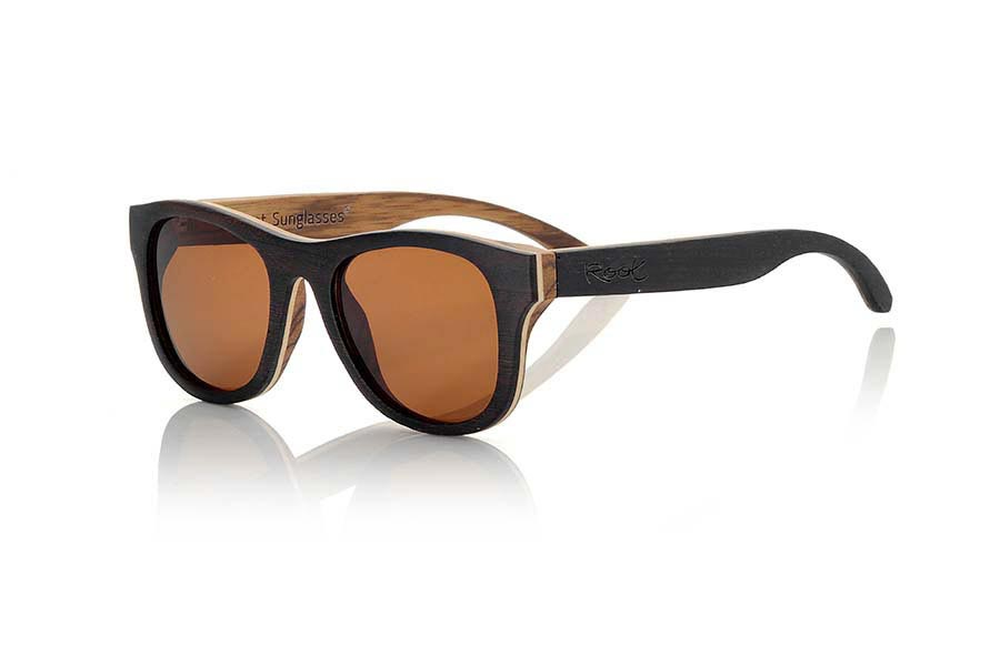 Wood eyewear of Wenge modelo SECHURA | Root Sunglasses®
