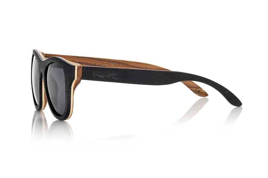 Wood eyewear of Wenge SECHURA.   |  Root Sunglasses®