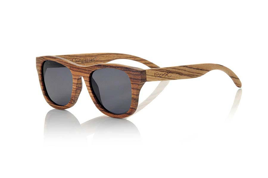Wood eyewear of Zebra NEGEV | Root Sunglasses®