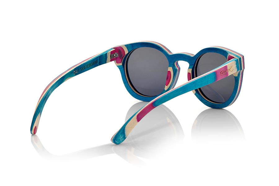 Wood eyewear of Skateboard DALI | Root Sunglasses®