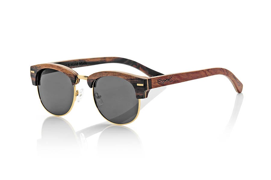 Wood eyewear of Ebony ICARO | Root Sunglasses®