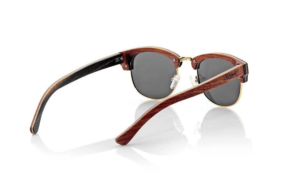 Gafas de Madera Natural de Ébano ICARO | Root Sunglasses®