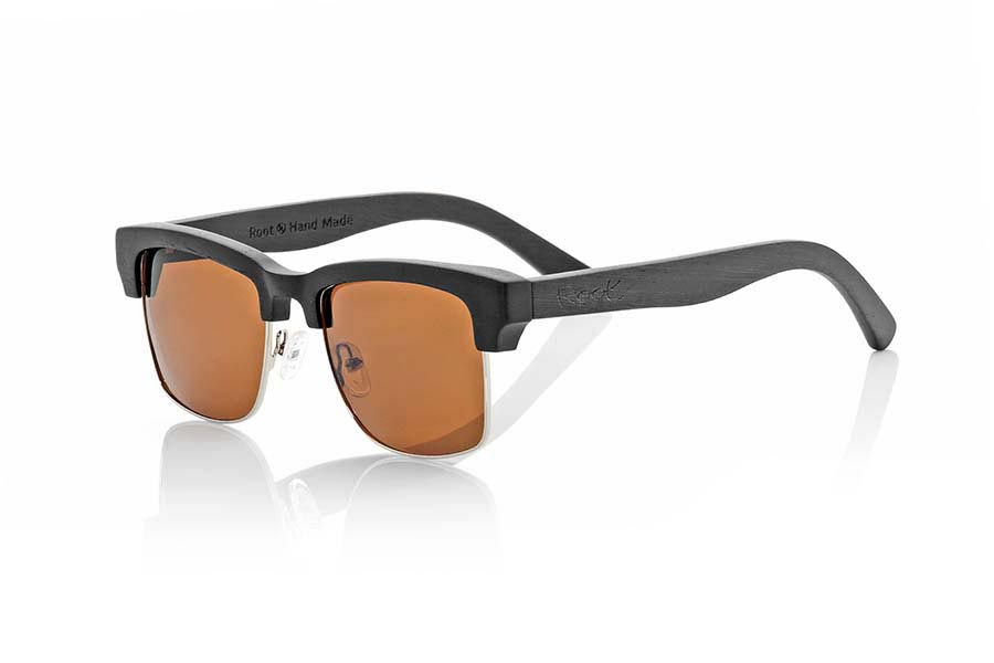Gafas de Madera Natural de Mpingo modelo SIMILAN | Root Sunglasses®