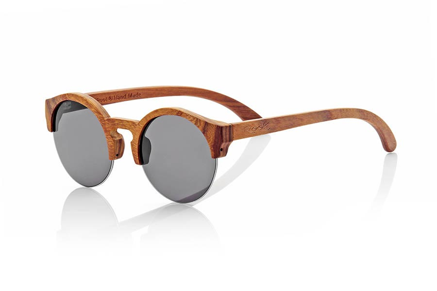 Wood eyewear of Rosewood QINN.   |  Root Sunglasses®