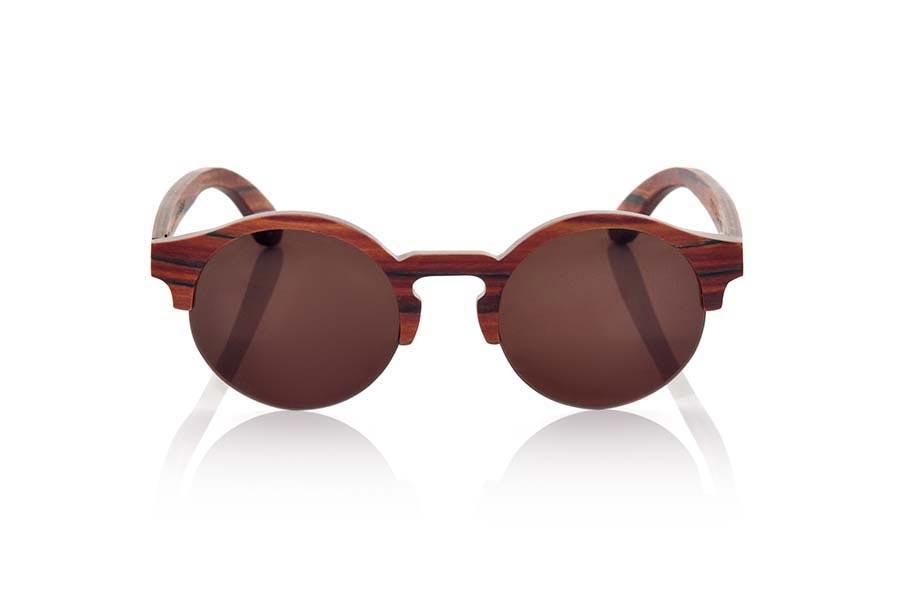 Wood eyewear of Rosewood QINN | Root Sunglasses ®