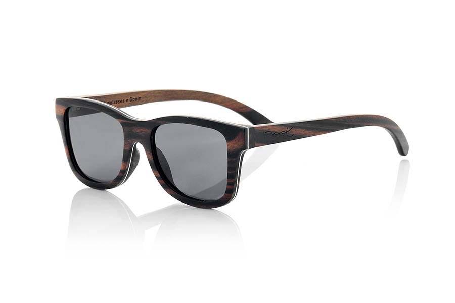 Gafas de Madera Natural de Ébano DANAKIL | Root Sunglasses®