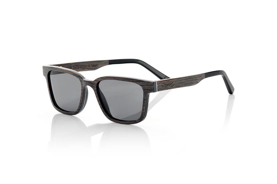 Wood eyewear of Black Walnut SANDY.   |  Root Sunglasses®