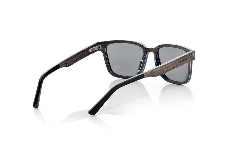 Wood eyewear of Black Walnut SANDY | Root Sunglasses ®