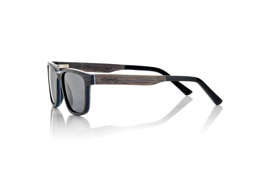 Wood eyewear of Black Walnut SANDY | Root Sunglasses®