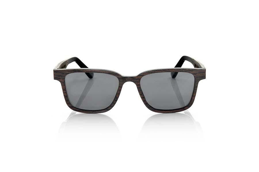 Wood eyewear of Black Walnut modelo SANDY | Root Sunglasses®