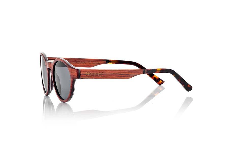 Wood eyewear of Rosewood BASIN | Root Sunglasses ®