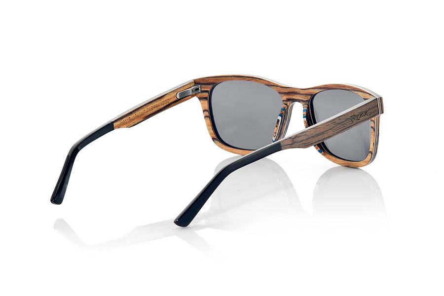 Wood eyewear of Black Walnut NAMIB | Root Sunglasses®