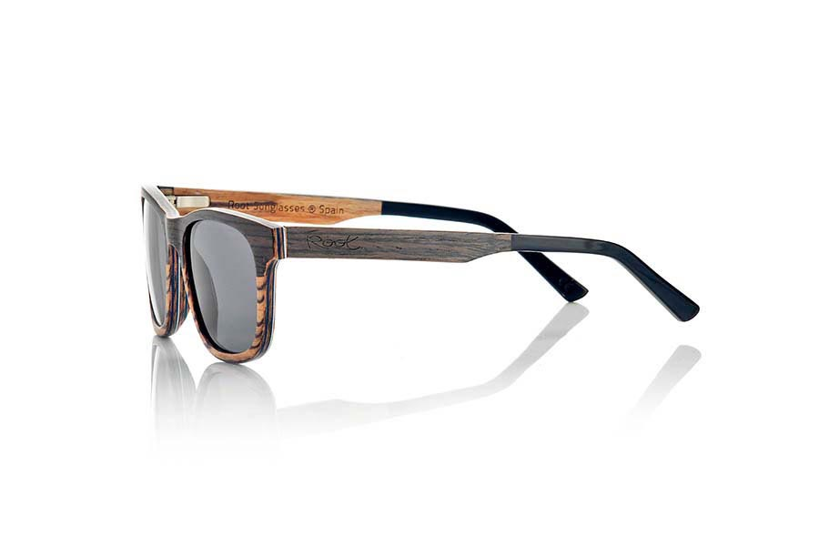 Wood eyewear of Black Walnut modelo NAMIB | Root Sunglasses®