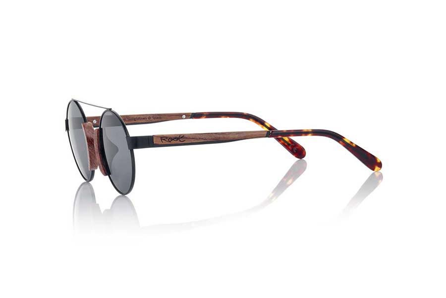 Wood eyewear of Rosewood ATACAMA.   |  Root Sunglasses®
