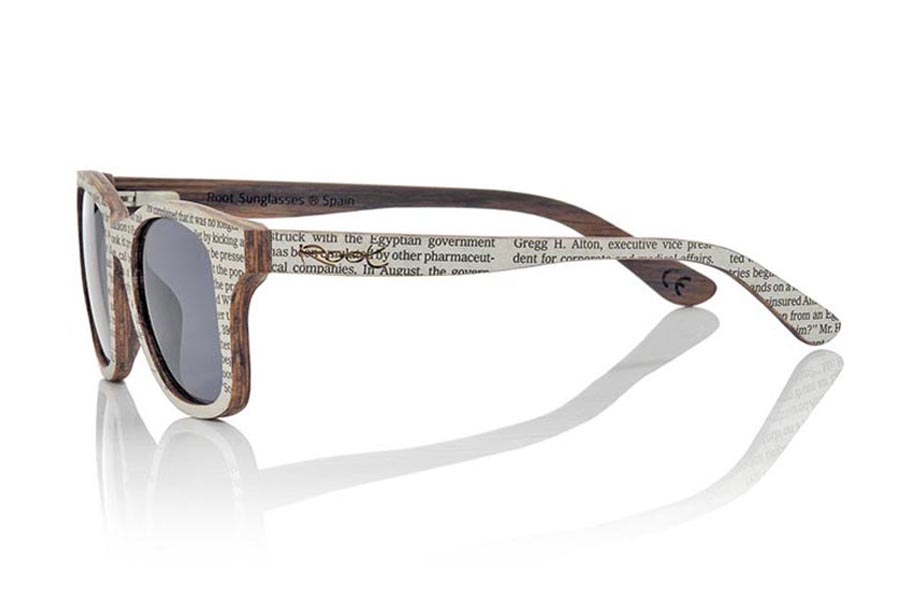 Wood eyewear of Zebra SILOLI | Root Sunglasses®