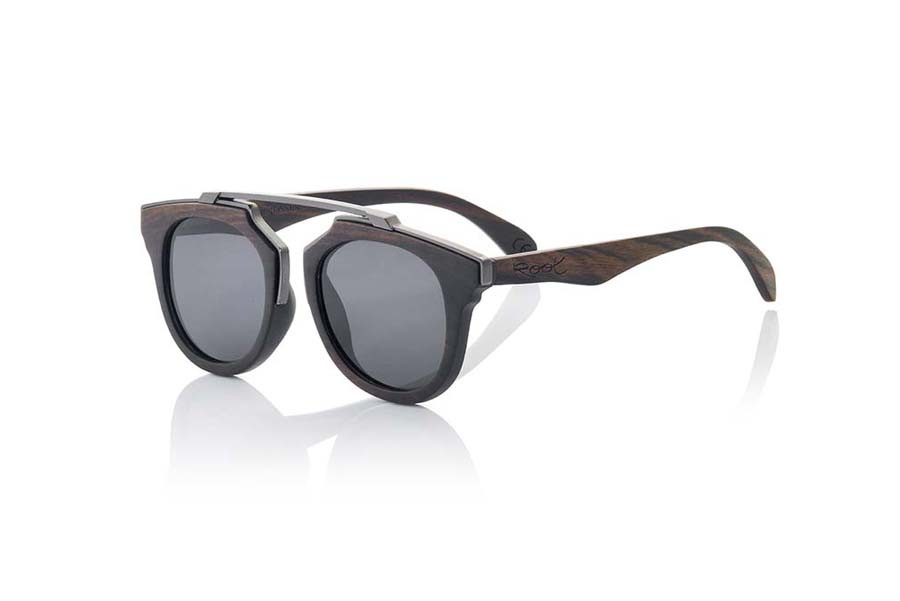 Wood eyewear of Ebony TENERE | Root Sunglasses®