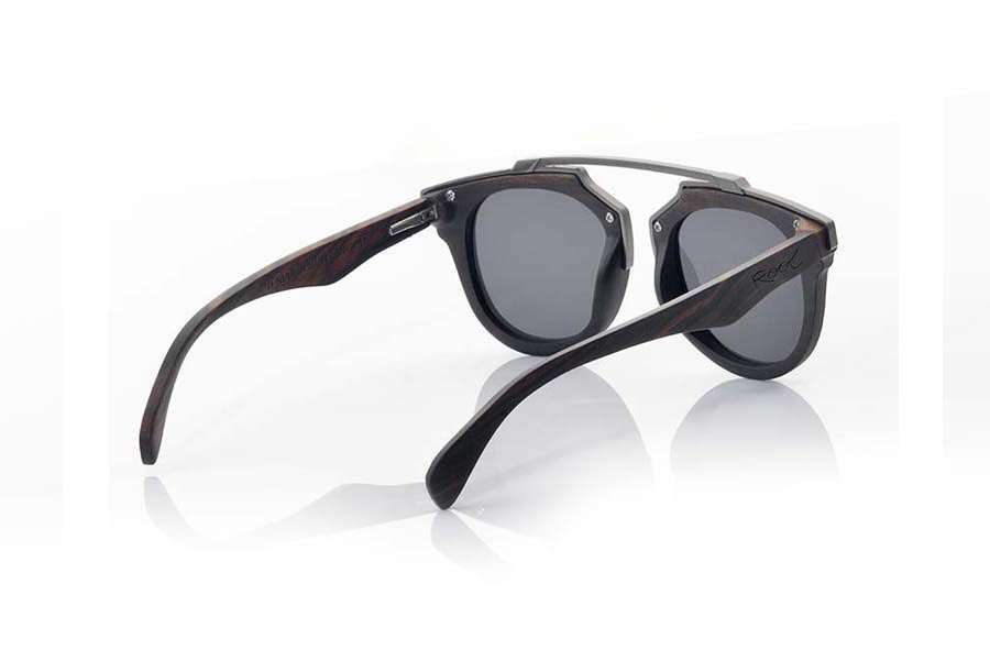 Wood eyewear of Ebony TENERE.   |  Root Sunglasses®