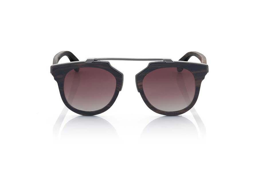 Gafas de Madera Natural de Ébano TENERE | Root Sunglasses®