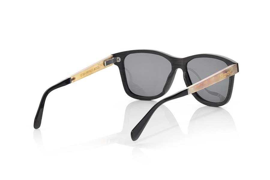 Wood eyewear of Ebony UTAH | Root Sunglasses®