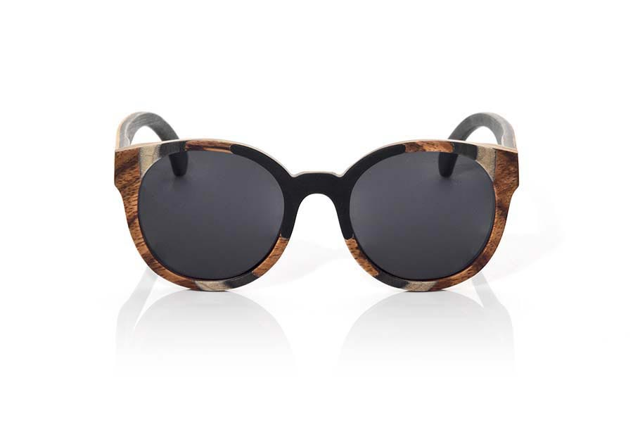 Wood eyewear of Mpingo BORNEO | Root Sunglasses ®