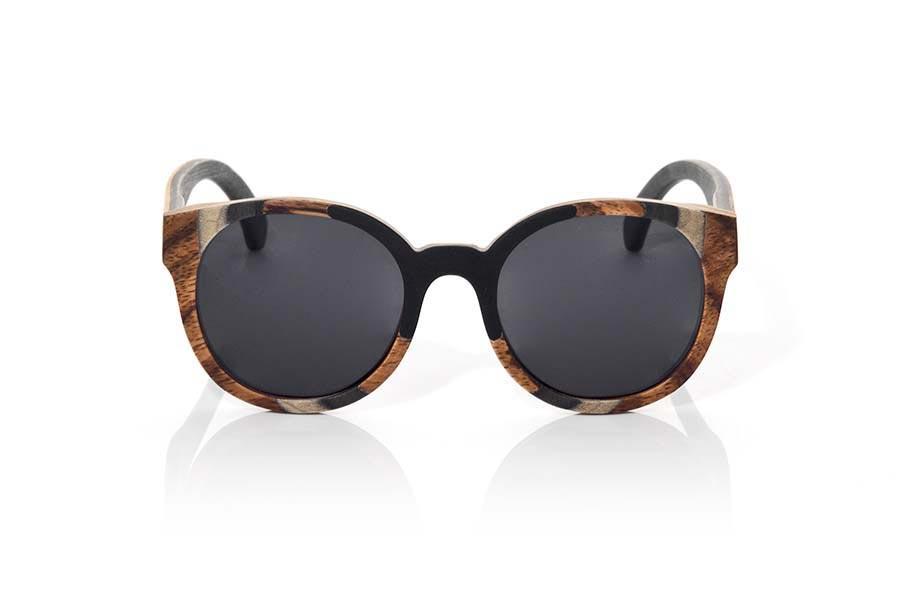 Wood eyewear of Mpingo BORNEO | Root Sunglasses ®