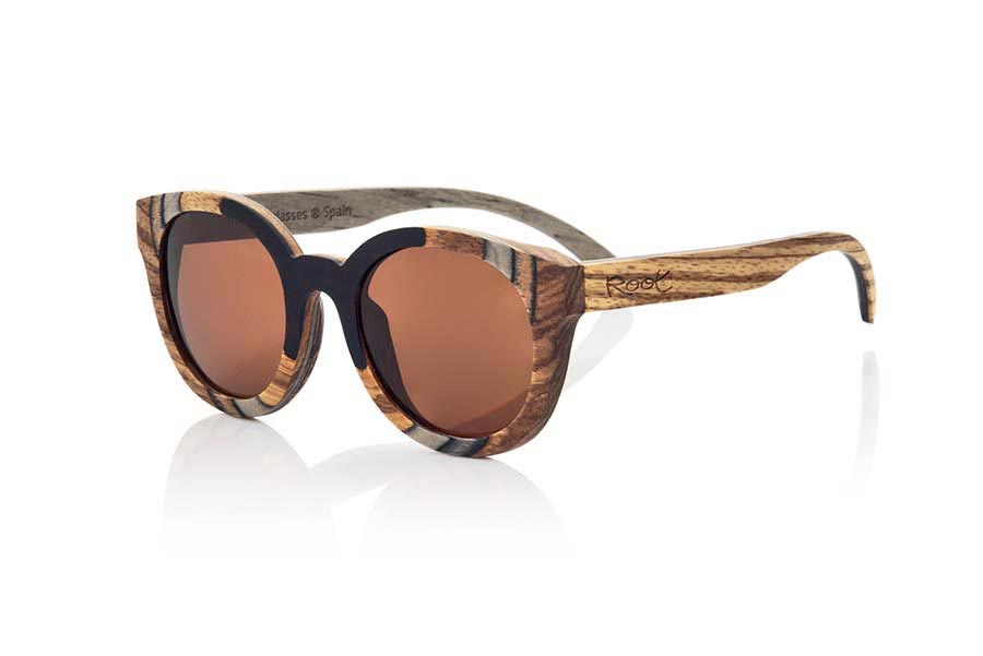 Wood eyewear of Mpingo BORNEO | Root Sunglasses®
