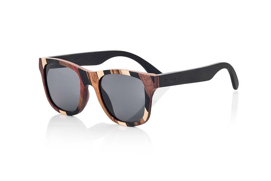 Wood eyewear of Mpingo BORACAI.   |  Root Sunglasses®