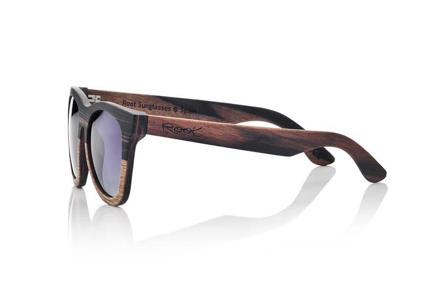 Wood eyewear of Ebony MOOREA | Root Sunglasses®