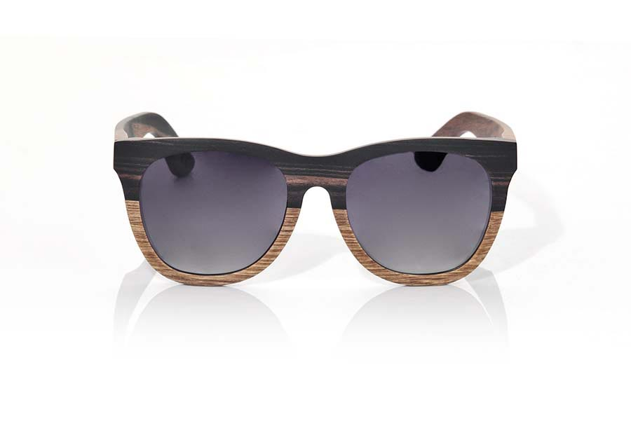 Wood eyewear of Ebony MOOREA | Root Sunglasses ®
