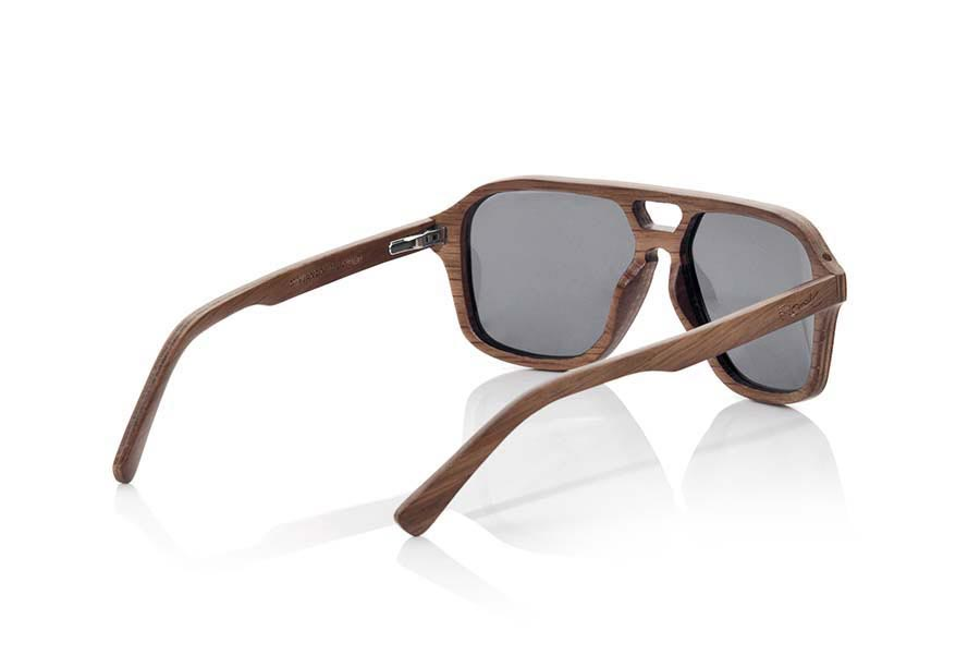 Wood eyewear of Black Walnut modelo MINDANAO | Root Sunglasses®