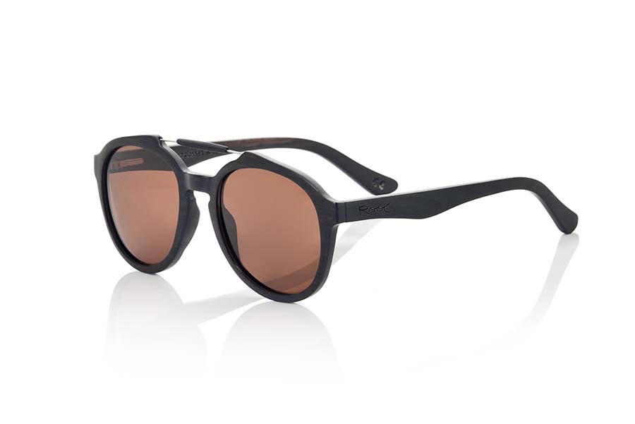 Wood eyewear of Ebony DAVAO | Root Sunglasses®