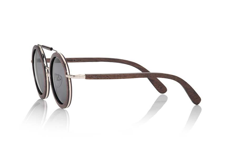 Wood eyewear of walnut JAVA | Root Sunglasses ®