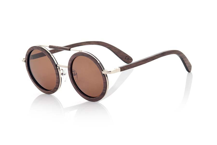 Wood eyewear of Black Walnut JAVA | Root Sunglasses®