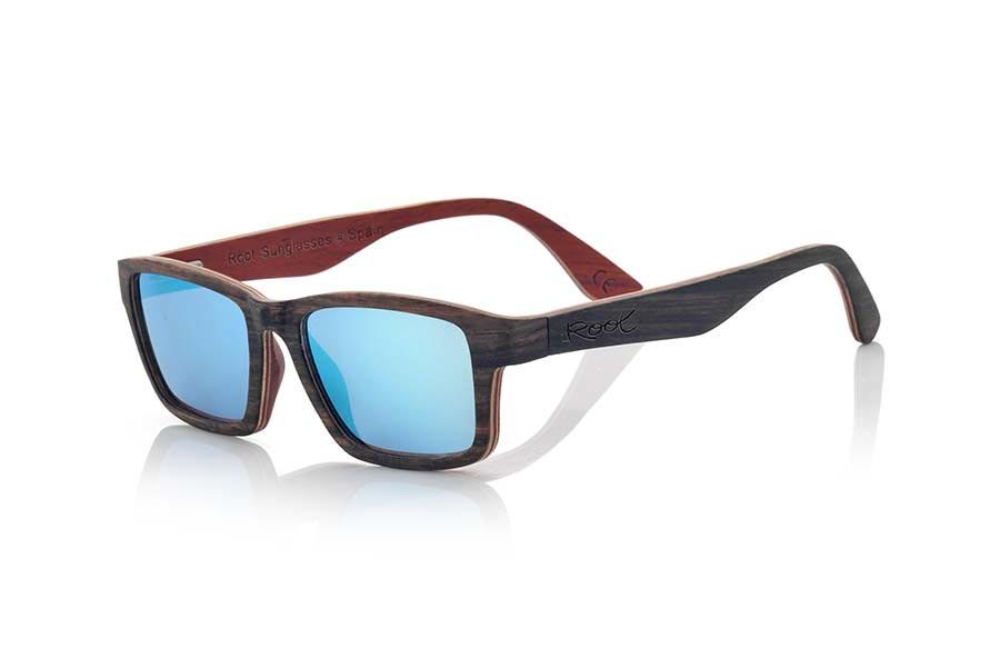 Gafas de Madera Natural de ebony DEVON | Root Sunglasses®