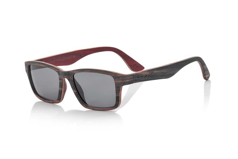 Gafas de Madera Natural de ebony modelo DEVON | Root Sunglasses®