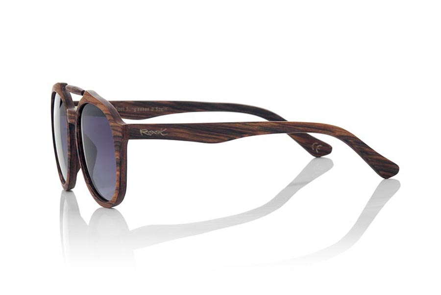 Wood eyewear of Mahogany SAONA | Root Sunglasses®