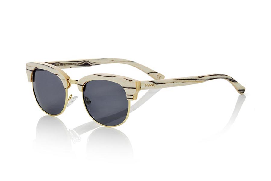 Wood eyewear of White Wood modelo HAYMAN | Root Sunglasses®