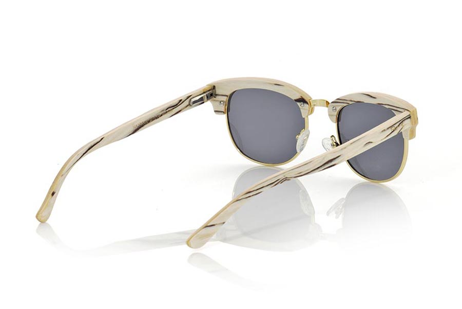 Wood eyewear of White Wood HAYMAN | Root Sunglasses®