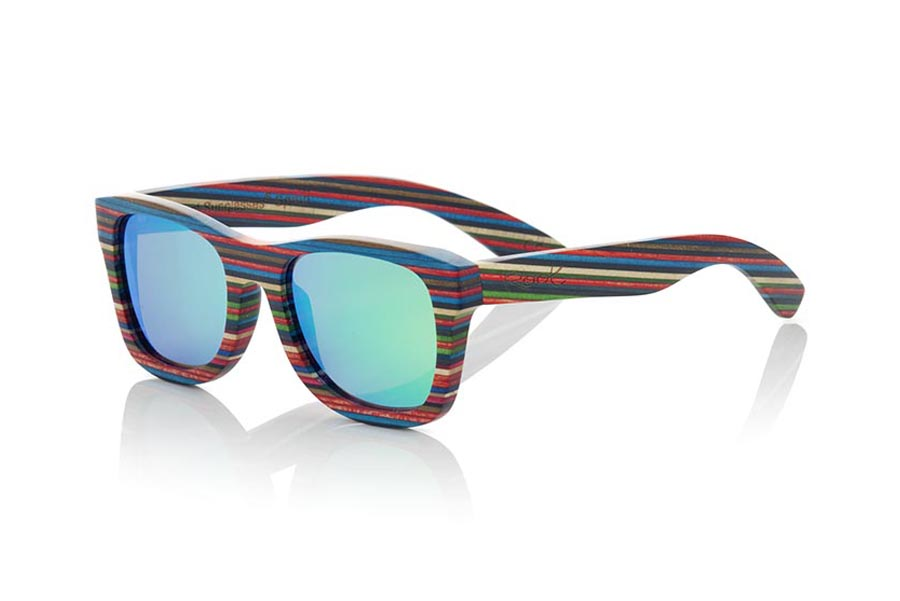Wood eyewear of Skateboard SABAY | Root Sunglasses®