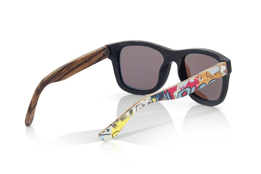 Wood eyewear of Bamboo COMIC | Root Sunglasses®