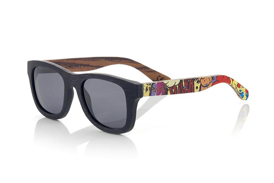 Wood eyewear of Bamboo modelo COMIC S | Root Sunglasses®