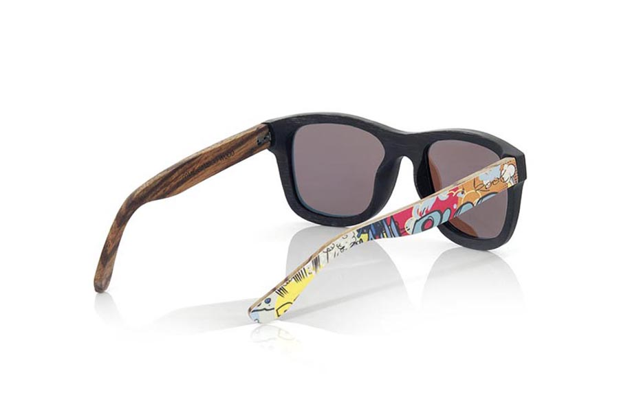 Wood eyewear of Bamboo COMIC S | Root Sunglasses®
