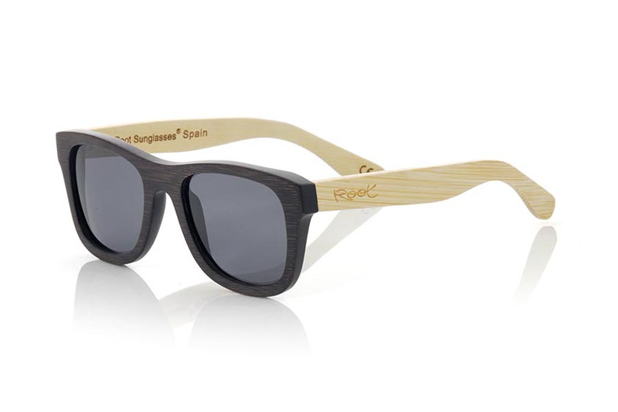 Wood eyewear of Bamboo modelo WOODHEART | Root Sunglasses®