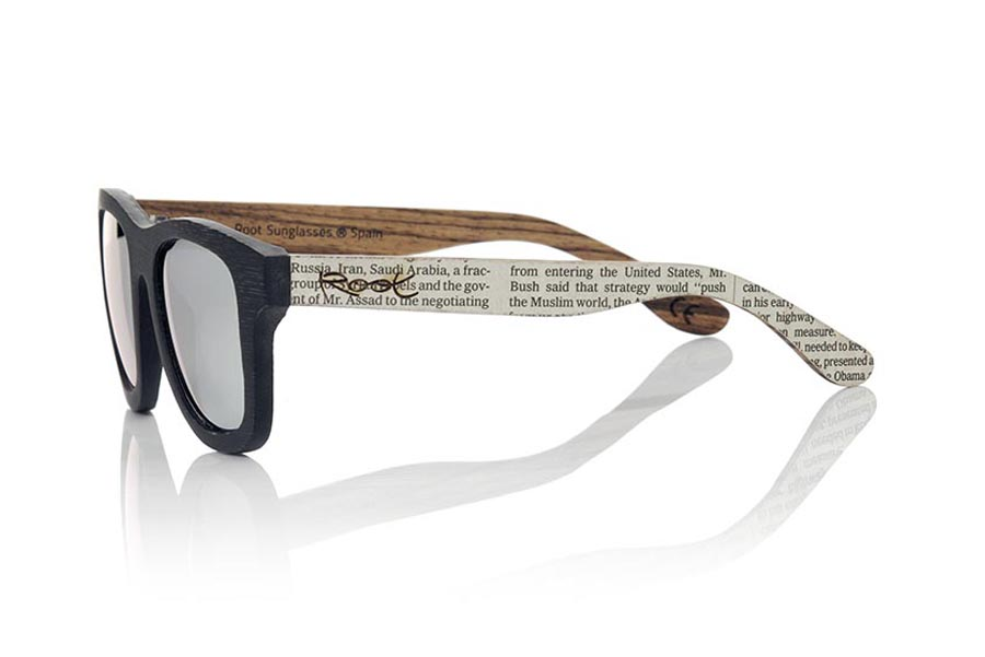 Wood eyewear of Bamboo modelo SANS | Root Sunglasses®