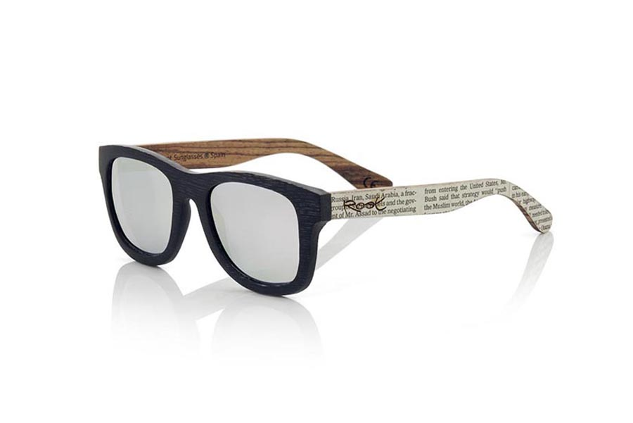 Wood eyewear of Bamboo SANS S | Root Sunglasses®