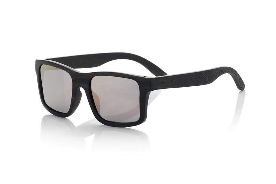 Wood eyewear of Ebony modelo SAMOA EB | Root Sunglasses®