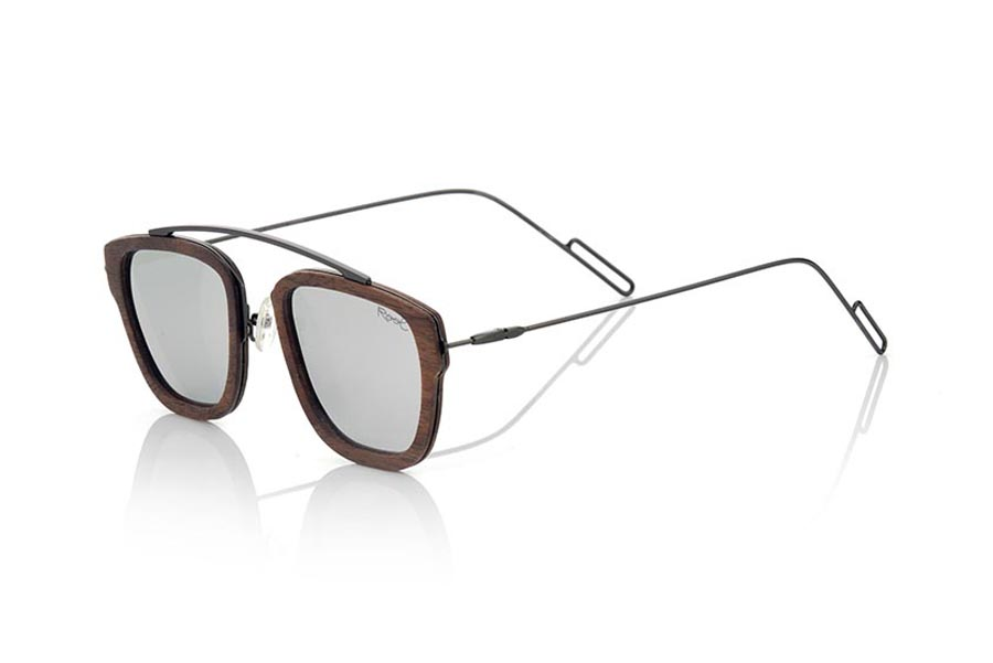 Wood eyewear of Black Walnut modelo LOMBOK | Root Sunglasses®